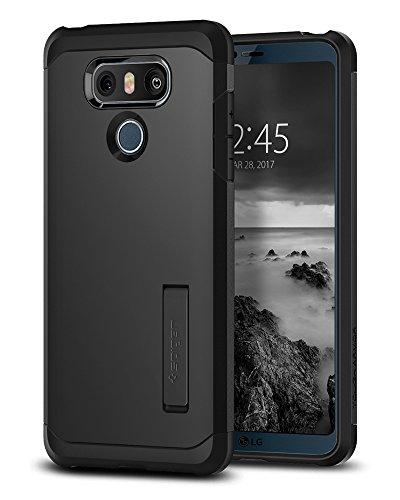 Spigen LG G6 Hülle, [Tough Armor] Extrem Fallschutz Doppelte Schutzschicht Schutzhülle für LG G6 Case Cover Black (A21CS21235)