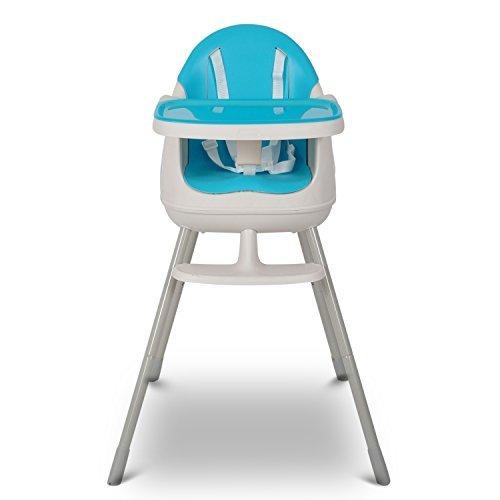 Keter - Silla para comer de bebé, de color azul