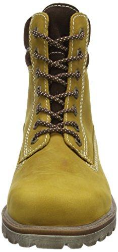 Juge-chaussures bottes de combat dragon garçon Jaune - Gelb (mustard/espresso  5111)