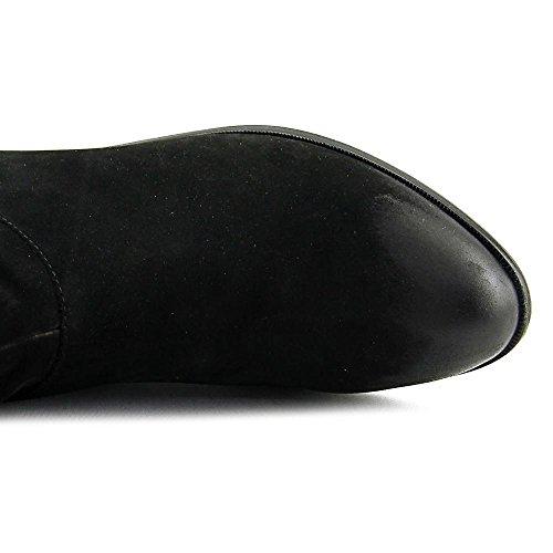 Aldo Althea Rund Wildleder Mode Mitte Calf Stiefel Black