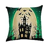 Ears Halloween Home Decor Halloween Square Kissenbezug Kissen Fall Toss Kissenbezug Versteckte Reißverschluss