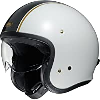 Shoei J.O Carburettor Open Face Motorcycle Helmet XS White (TC-6)