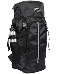 POLE STAR Hike BLK Rucksack with RAIN Cover/Trekking/Hiking BAGPACK/Backpack Bag