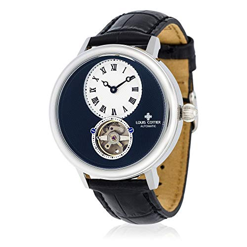 Cottier Louis Automatic Leather And Watch Analogue Display Hb34330c1bc1 Strap IbeW9EDH2Y