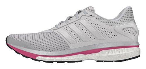 adidas Supernova Glide 8 W, Zapatillas de Running para Mujer, Gris Grpulg/Plamet, 36 2/3 EU