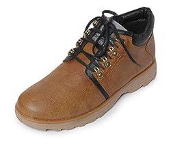 Bacca Bucci Mens Tan Boots - 7 UK, BBMA2130D