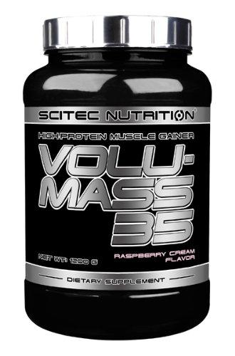 Scitec Nutrition Volumass 35, 1200g Pulver, Geschmack:Raspberry