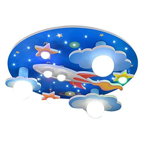 Tea fairy Stern Dekoration Lampen Cosmic Star Kinderzimmer Deckenleuchte Mit Led-weißes Licht Schlafzimmer Lampe Umwelt Jungen Und Mädchen Cartoon 61 * 61 * 190 cm A ++ -