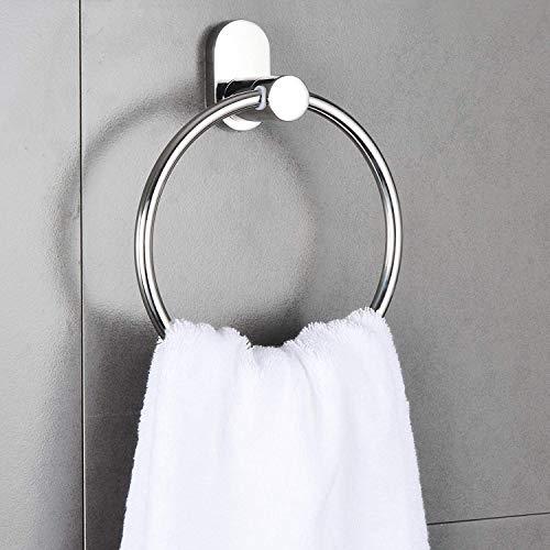 Ring Handtuchhalter Badezimmer Runde Handtuch Kleiderbügel Küche Regal Organizer Badezimmer Hardware SUS 304Edelstahl Wandhalterung poliert chrom h1832pc marmolux ACC - Chrom Poliert-kleiderbügel