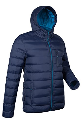 Mountain Warehouse Link Gepolsterte Herrenjacke mantel sportliche steppjacke mantel Marineblau