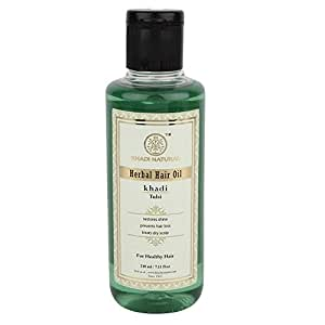 Khadi Natural Tulsi Oil, 210ml