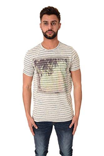 Petrol Industries Uomo Maglieria / T-shirt T-Shirt Blu