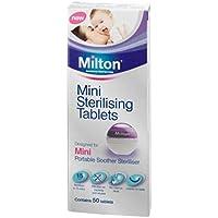 MiltonMini-Tabletas Esterilizantes - 50 Pack (Paquete de 2)