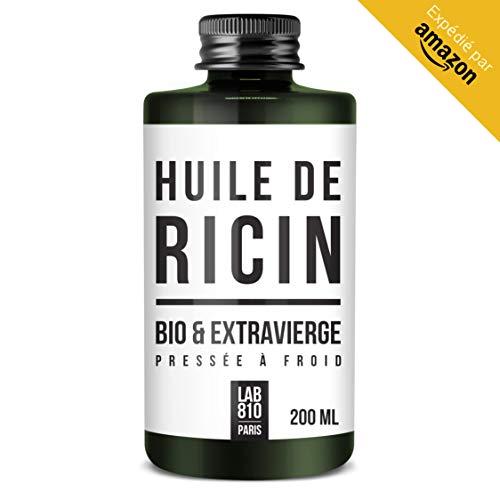 ACEITE BIO DE RICINO 100% Puro y Natural. Prensado en Frío, Extra Vir