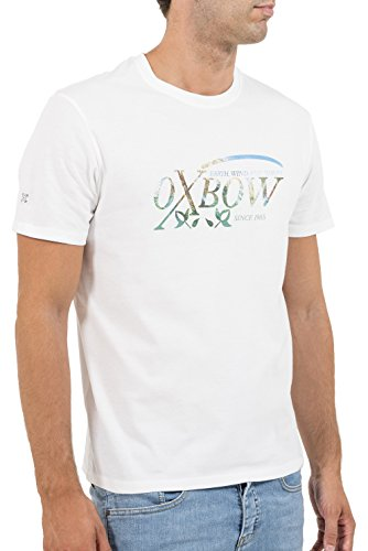 OXBOW k1termi Termi T-Shirt Kurzärmelig weiß