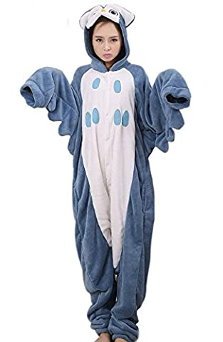 LATH.PIN Rosa Einhorn Pyjama Tieroutfit Tierkostüme Schlafanzug Tier Onesize Sleepsuit mit Kapuze Erwachsene Unisex Fleece-Overall Kostüm (L,