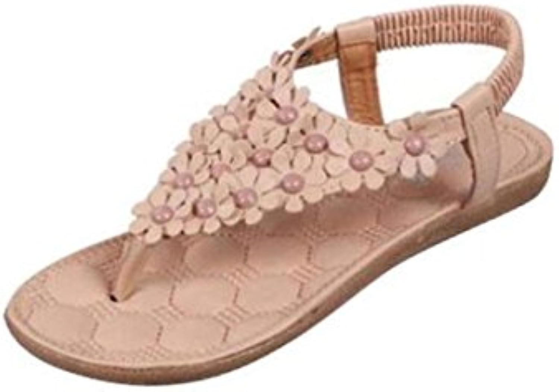 1709b5f1d2fb2 ... Women s Girls Fashion Sweet Bohemia Sweet Summer Beaded Clip Toe Summer  Beach Shoes Fashion Herringbone... B07D67Q228 Parent a0b4090. Search. Menu