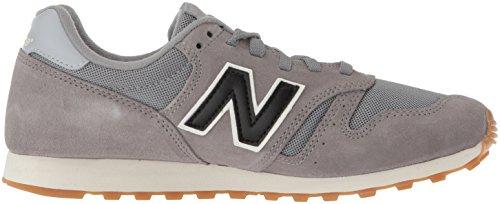 New Balance 373, Baskets Homme gris/noir