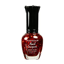 KLEANCOLOR Nail Lacquer 4 - Red-Hot