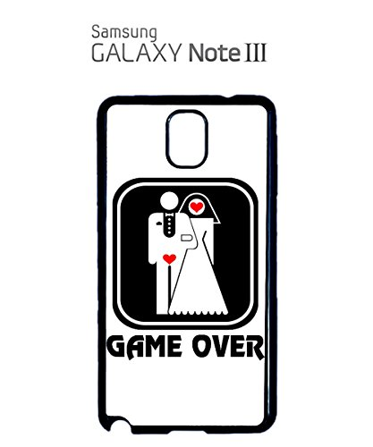 Game Over Funny Marriage Married Poor Guy Boy Mobile Phone Case Samsung Note 3 White Blanc
