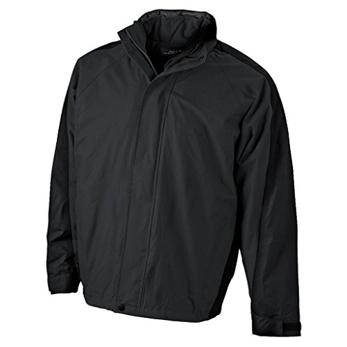 JAMES & NICHOLSON Multifunktionale Doppel-Jacke mit auszippbarer Fleecejacke Black/Black