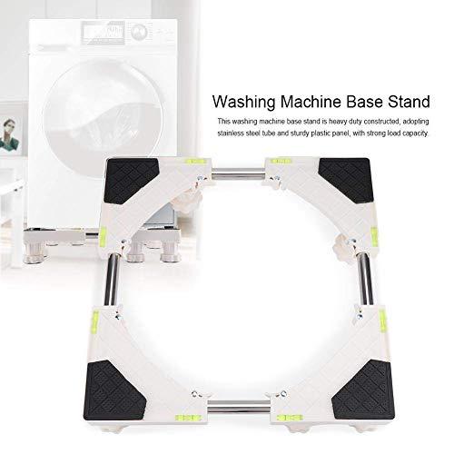 Waschmaschine Basis, 4/8 Füße Aufbewahrung Badezimmer Universal Stoßfest Klammer Kühlschrank Halter Haushalt Geräte Verstellbarem Ständer mit Rädern Halterung Kühlschrank Heavy Duty Rutschfest - Heavy-duty Kühlschrank
