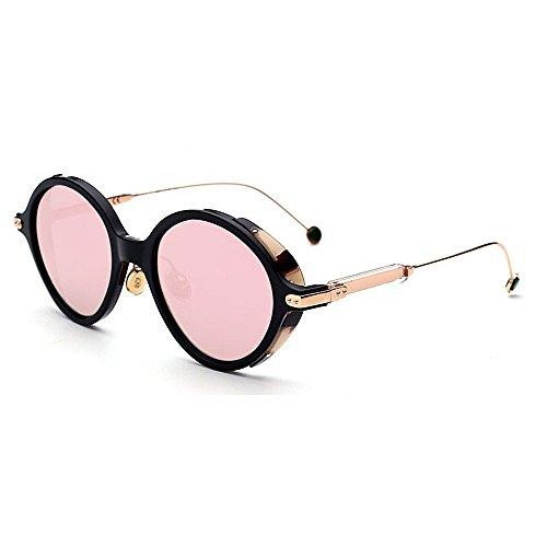 XHCP Frauen polarisierte Klassische Flieger-Sonnenbrille, empfindliche Sonnenbrille für Frauen-Druck-Rahmen-Plastik umrandete Sonnenbrille Klassische Damensonnenbrille für das Fahren der Farben-Ü