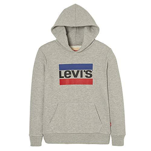 Levi's Kids Jungen Nn15017 22 Sweat Shirt Sweatshirt, Grau (Light China Grey), 14 Jahre (Herstellergröße: 14Y) China 14