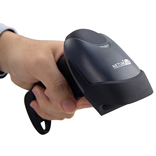 NETUM Handheld Laser Barcode Scanner 1D Lector de Escáner de Código de Barras con Cable USB aplicaciones...