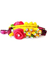 Handmade Artificial Jewellery Proceline Dough Work Banana Hair Clip /Proceline Dough / Hair Accesoseries /hair... - B073WD4LYY