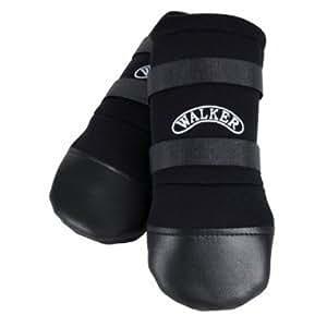 Trixie Walker Care Protective Boots, Large, Black (Golden Retriever)