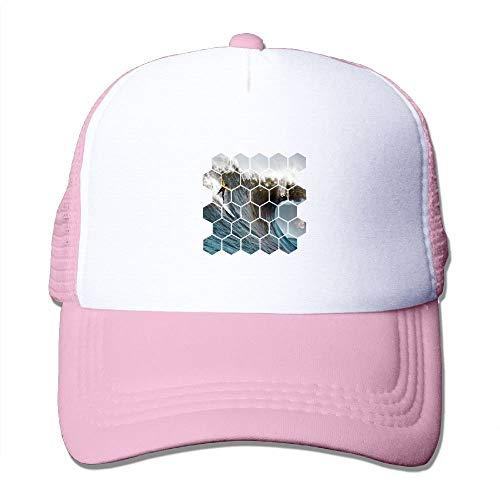 Zhgrong Two Tone Trucker Hat - Boxer Dog - Adjustable Mesh Hat - Boxer Garden Flag