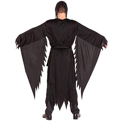 Imagen de disfraz de la película scream para hombre | máscara de miedo | vestimenta larga | disfraz de cuerpo completo l | no. 300112  alternativa