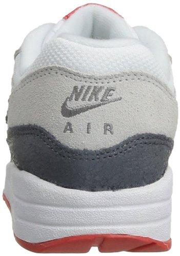 Nike Wmns Air Max 1 Essential, Chaussures de sport femme Blanc (White/Cl Gry/Lt Bs Gry/Lt Crms)