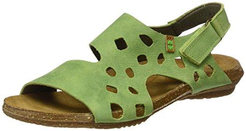 El Naturalista N5061 Pleasant Wakataua, Ouvrez Toe Femme Vert (Green)