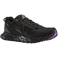 Reebok Sawcut 5.0 GTX, Chaussures de Marche Nordique Femme, Noir (Black/Vicious Violet/Cloud Grey), 38.5 EU