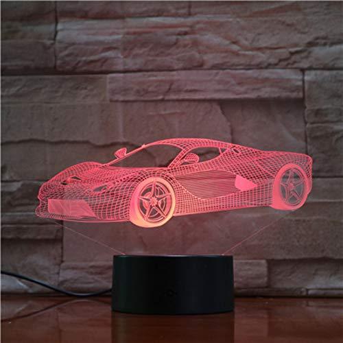 Aetd Schreibtischlampen Fernbedienung Super Neue Auto Nachtlicht Led Vision Stereo Acryl Panel Tischdekoration 7 Farben Ändern Schlafzimmer Lampe Gx1628 Vision Flat Panel
