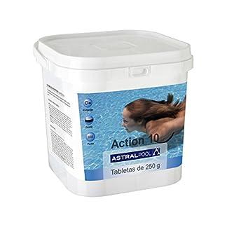 Astralpool – Action-10 Desinfectante Con Cloro Multiac. 5 Kg 250Gr – Formato Cuadrado