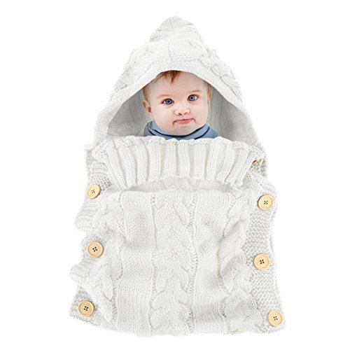 Yinuoday - Saco de dormir para bebé forro polar