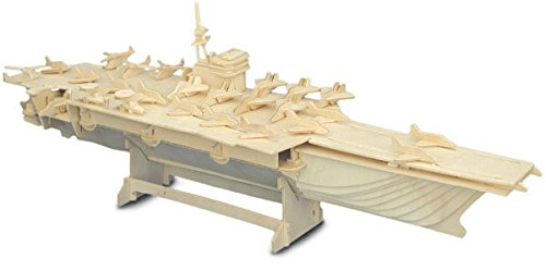 Aircraft Carrier - QUAY Woodcraft Construction Kit FSC