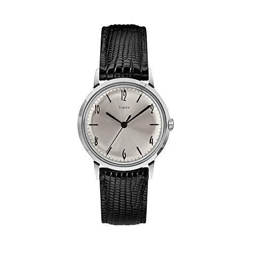 Timex TW2RA47900 - Orologio da donna, stile vintage, meccanico, a scatto manuale, cassa 34 mm