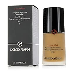 Giorgio ArmaniPower Fabric Longwear High Cover Foundation SPF 25 - 9 (Tan, Rosy)30ml/1oz