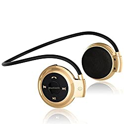 Samsung Galaxy S7 edge GT350COMPATIBLE NECBAND MINI WIRELESS SPORT BLUETOOTH HEADSET /HEADPHONE MUSIC STEREO BLUETOOTH EARPHONE MICRO SD CARD SLOT-COLOR MAY VARY BY JOKIN