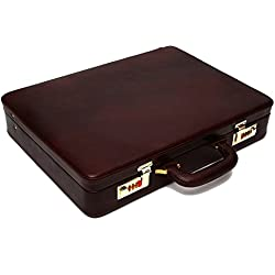 Hammonds Flycatcher Leather 20 Ltrs Brown Briefcase