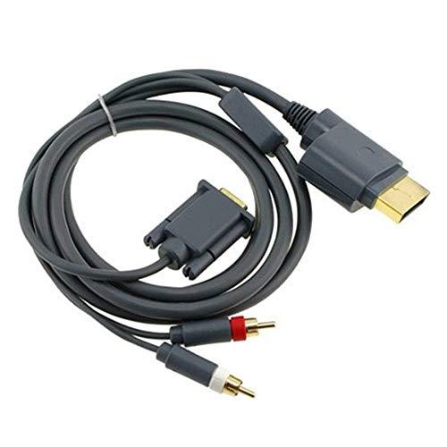 Gimax HD VGA AV Kabel Stecker mit optischem Ausgang für Xbox 360 für Xbox 360 Xbox 360-hdmi-hd-av-kabel