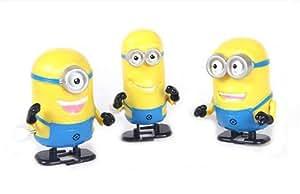 Y&D Despicable Me 2 Minions Wind-up Cartoon Toys 1 Set 3 Pieces