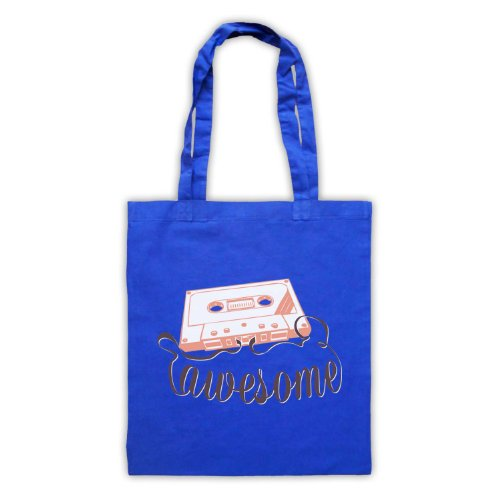 My Icon Art & Clothing , Borsa da spiaggia  Uomo-Donna Blu