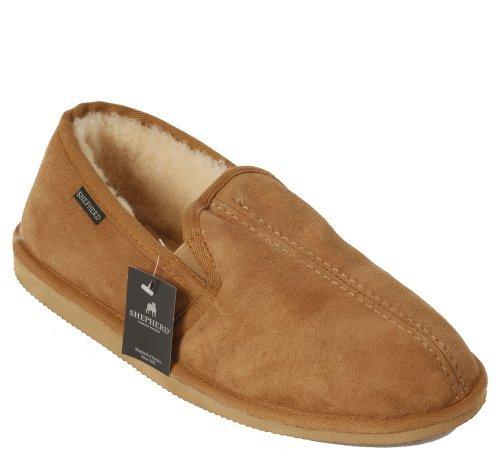 Shepherd, Pantofole uomo Beige.