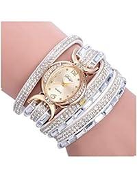 Montre Femmes,2018 WINWINTOM Bracelet pour Femme Cercle De Diamant Regarder  Table De Mode éTudiante 0d1fdb5d0ac