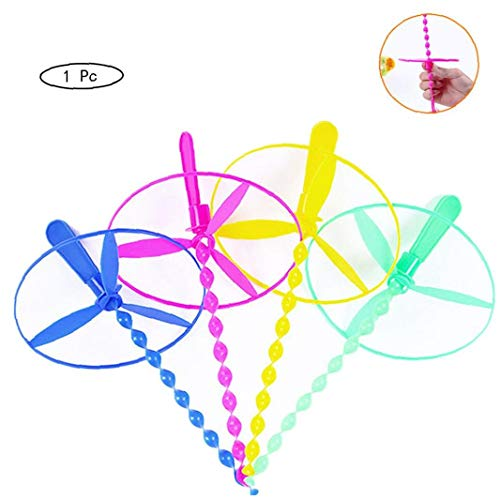 AMOYER Außen Kunststoff Libelle Propeller Spielzeug-Kind-Geschenk-Fliegen Lustige Gadgets Spielzeug Für Kinder (Zufällige Farbe)